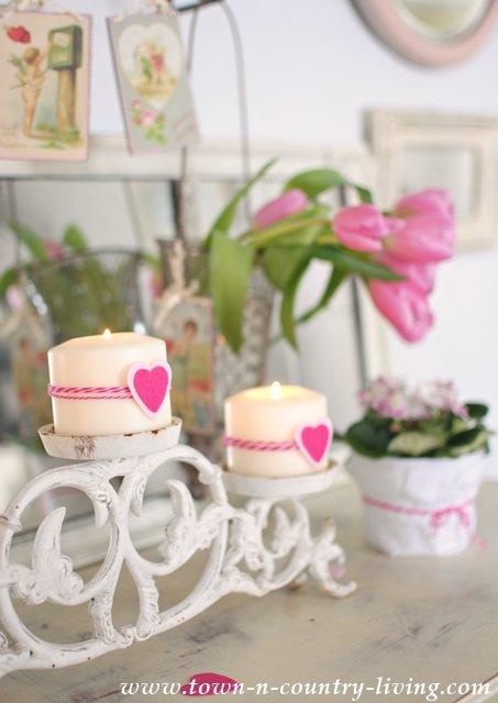 Romantic Decorating Details