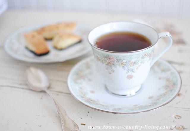 How to make flavored tea