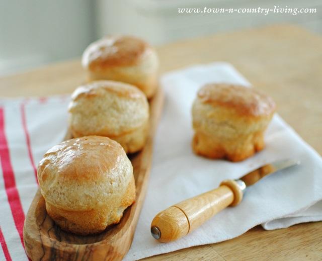 Peasant Bread Baked in Ramekins