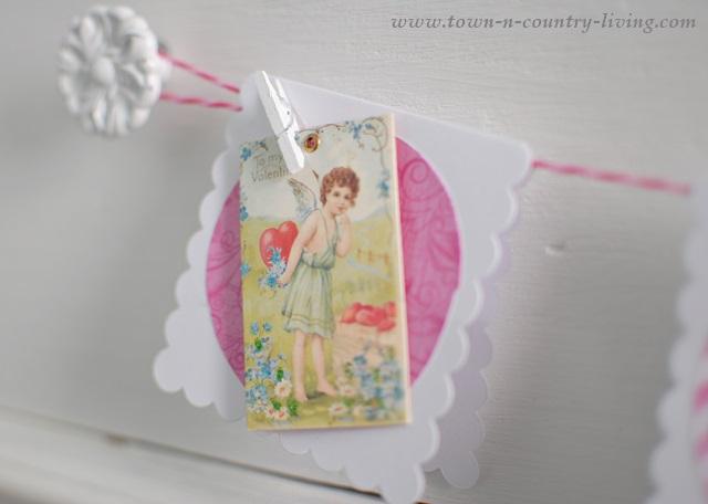 DIY Vintage Valentine's Cards
