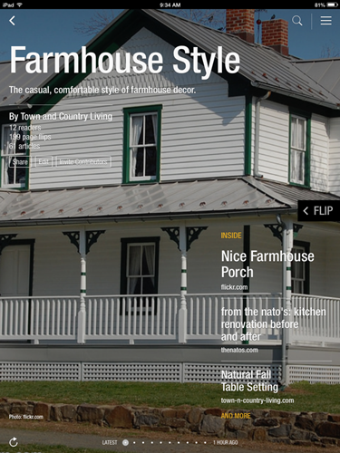 Farmhouse Style Flipboard Magazine