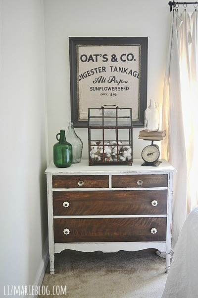 Farmhouse Style Guest Bedroom - Liz Marie Blog