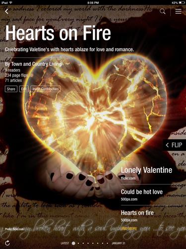 Hearts on Fire Flipboard Magazine