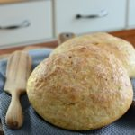 Homemade No Knead Peasant Bread