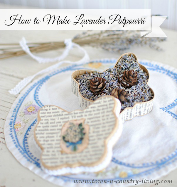 How to Make Lavender Potpourri