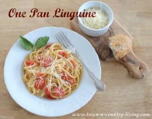 One Pan Linguine