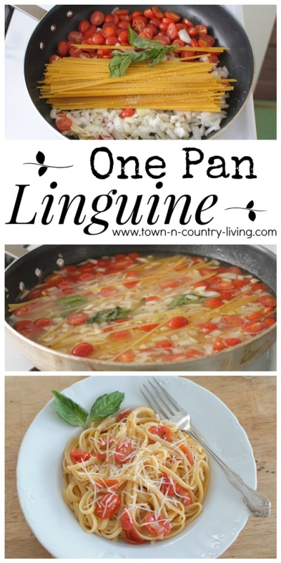 From cupboard to table in just 20 minutes, and oh so amazingly good! All it takes is one pan to make this tasty dish.