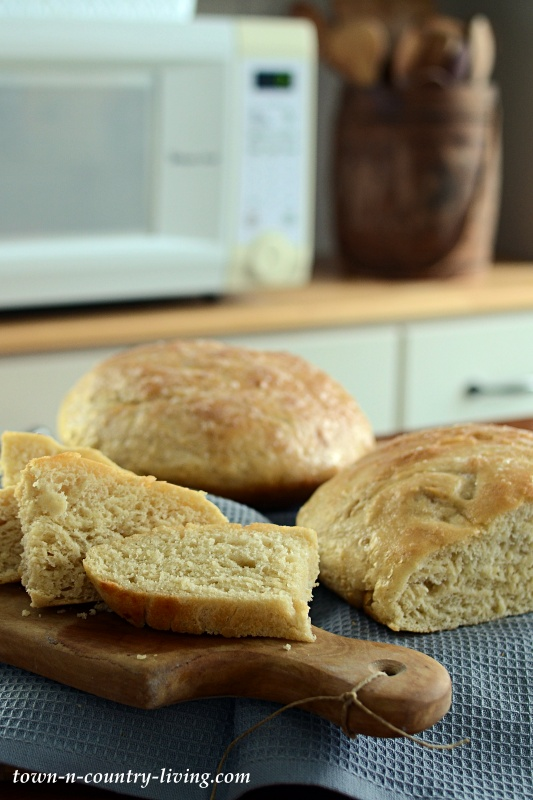 Rustic Homemade Peasant Bread