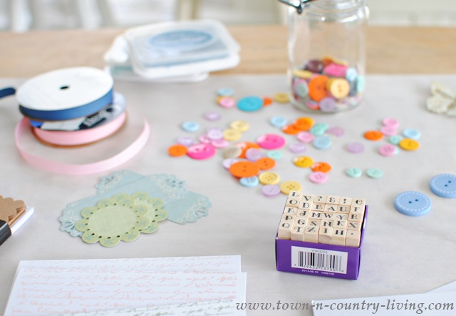 Supplies for Handmade Greeting Cards