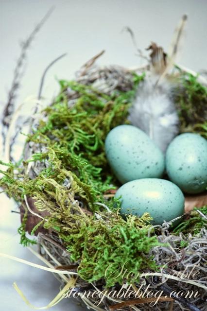 DIY Nest by StoneGable Blog