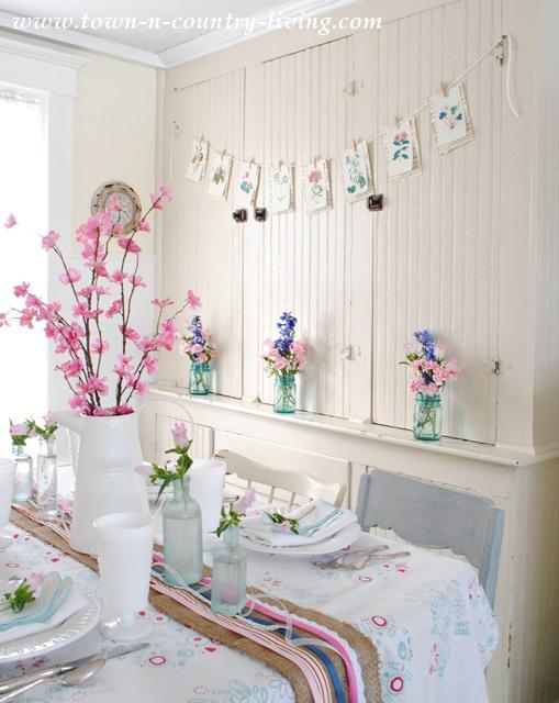 Spring in the Kitchen Nook