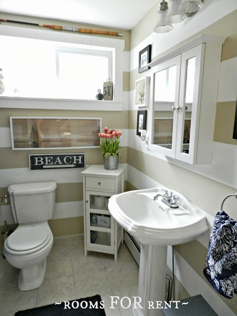 Cottage Style Bathroom at Rooms for Rent