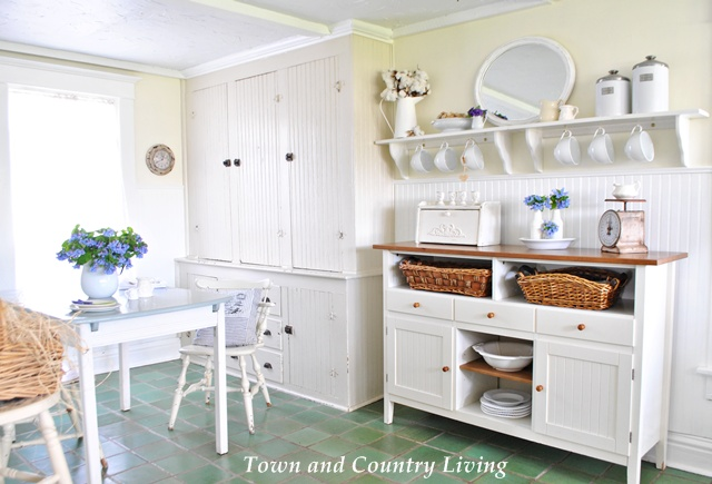 Farmhouse storage our vintage home love farmhouse table farmhouse - Field Trip Friday With Town And Country Living What