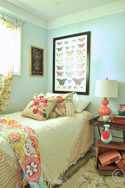 Boho Girl's Bedroom