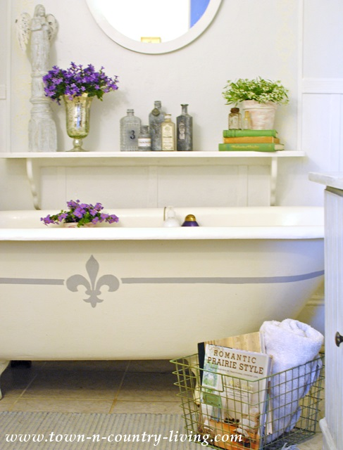 French Style Claw Foot Tub