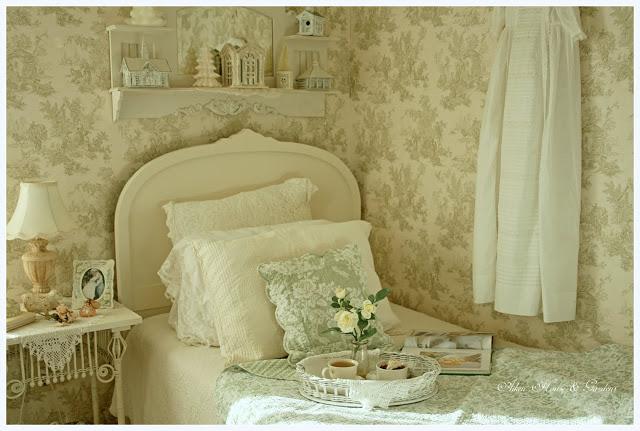 Charming Romantic Guest Bedroom