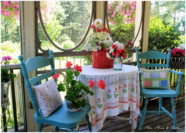 Summer Porch full of Romance and Charm