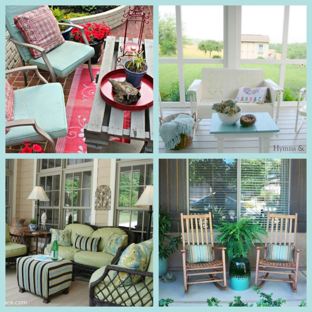 Front and Back Summer Porches