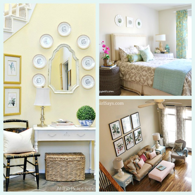 Amazing Bloggers' Summer Rooms