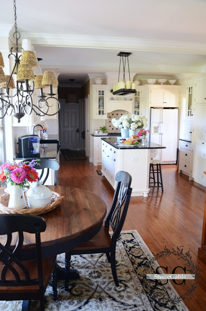 Charming Traditional Elegance StoneGable Home Tour Town & Country Living