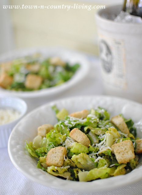 Easy Caesar Salad Recipe - Town & Country Living