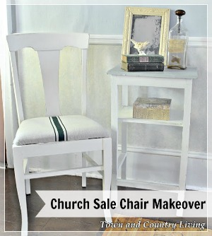 Church Sale Chairs Get a Makeover