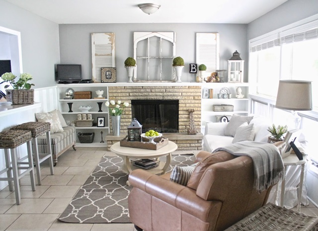 Cottage Style Hearth Room