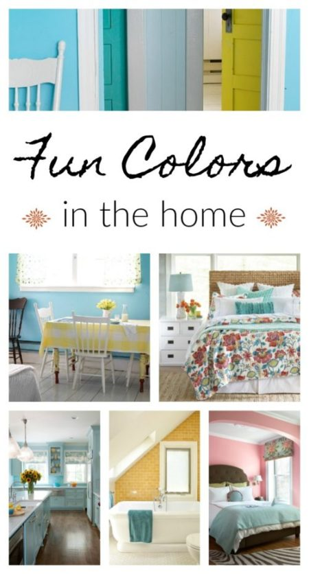 Fun colors in the home - for every room