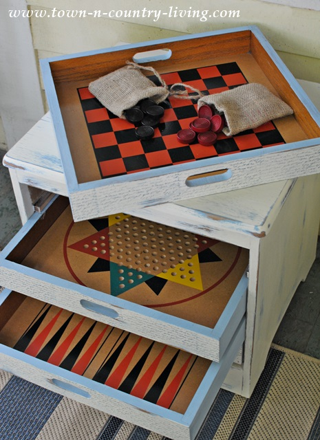 From Trash to Treasure Game Table