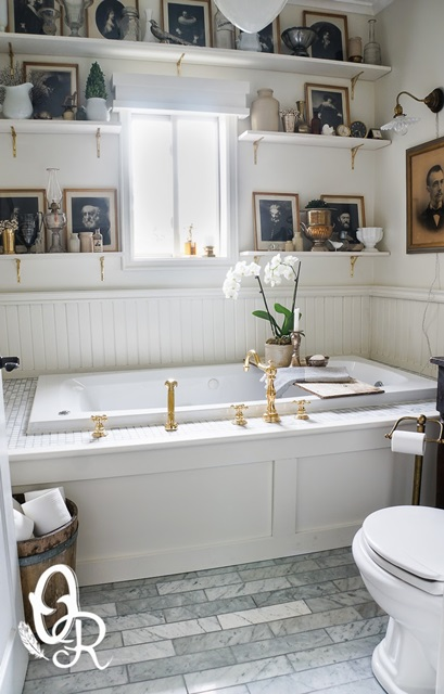Bathroom Makeover at Oliver and Rust