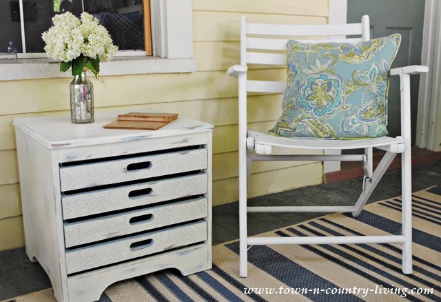 Refinished Table in Annie Sloan Chalk Paint