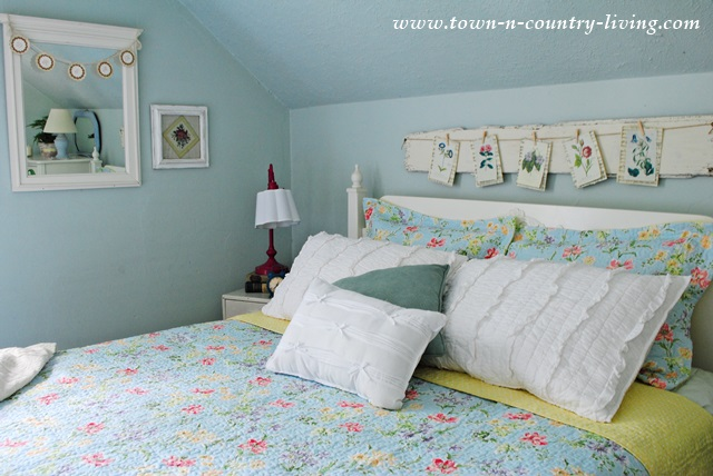 Farmhouse Bedroom Makeover for Summer