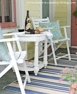 How I Turned My Farmhouse Porch into a Mini Retreat