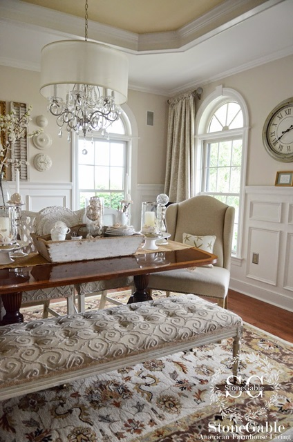 Charming Traditional Elegance Stonegable Home Tour