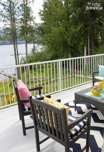 Lakeside Deck and Dining with a View