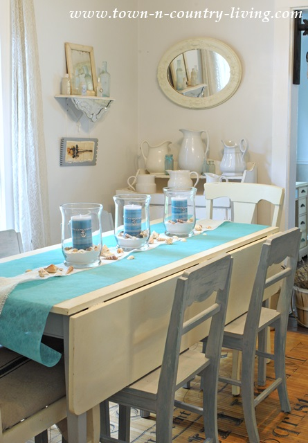 How To Create A Summer Coastal Centerpiece Town
