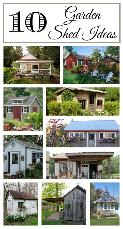 10 Adorable Garden Sheds - Town & Country Living