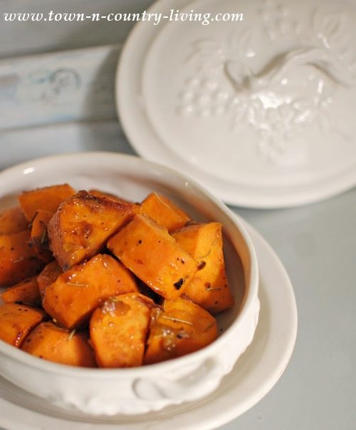 Orange Braised Sweet Potatoes