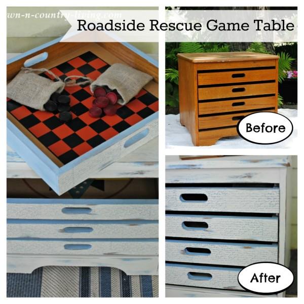 DIY Roadside Rescue Game Table