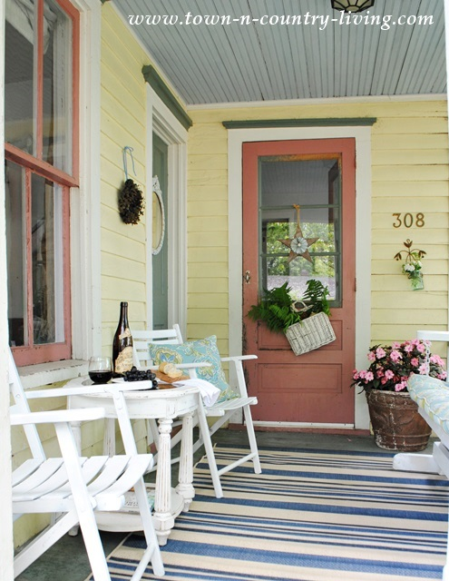 7 ways to add summer style cedar hill farmhouse for Country porch coupon code