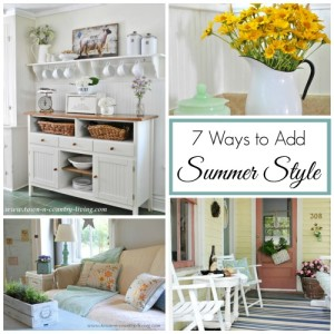 Collection of Summer Decorating Inspiration