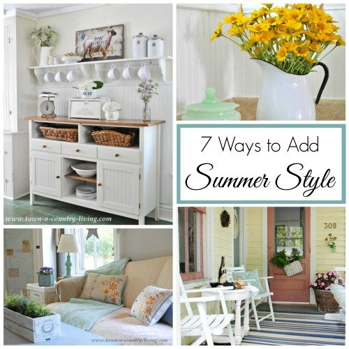 how to add french farmhouse style