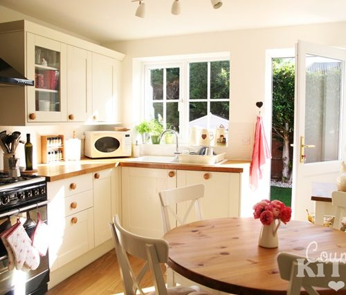 Country Scandinavian Style Kitchen
