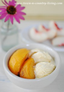 How to Can Honey Lavender Peaches