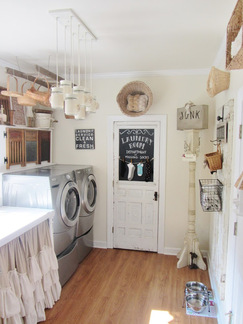 Cottage Style Laundry Room