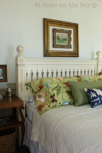 Charming Master Bedroom at At Home on the Bay