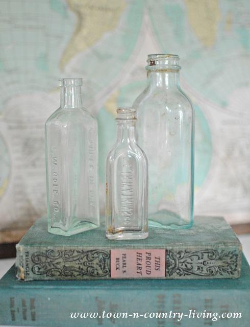 Flea Market Finds - Vintage Bottles