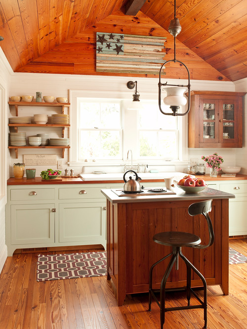 Collection Of Rustic Kitchens Town Amp Country Living