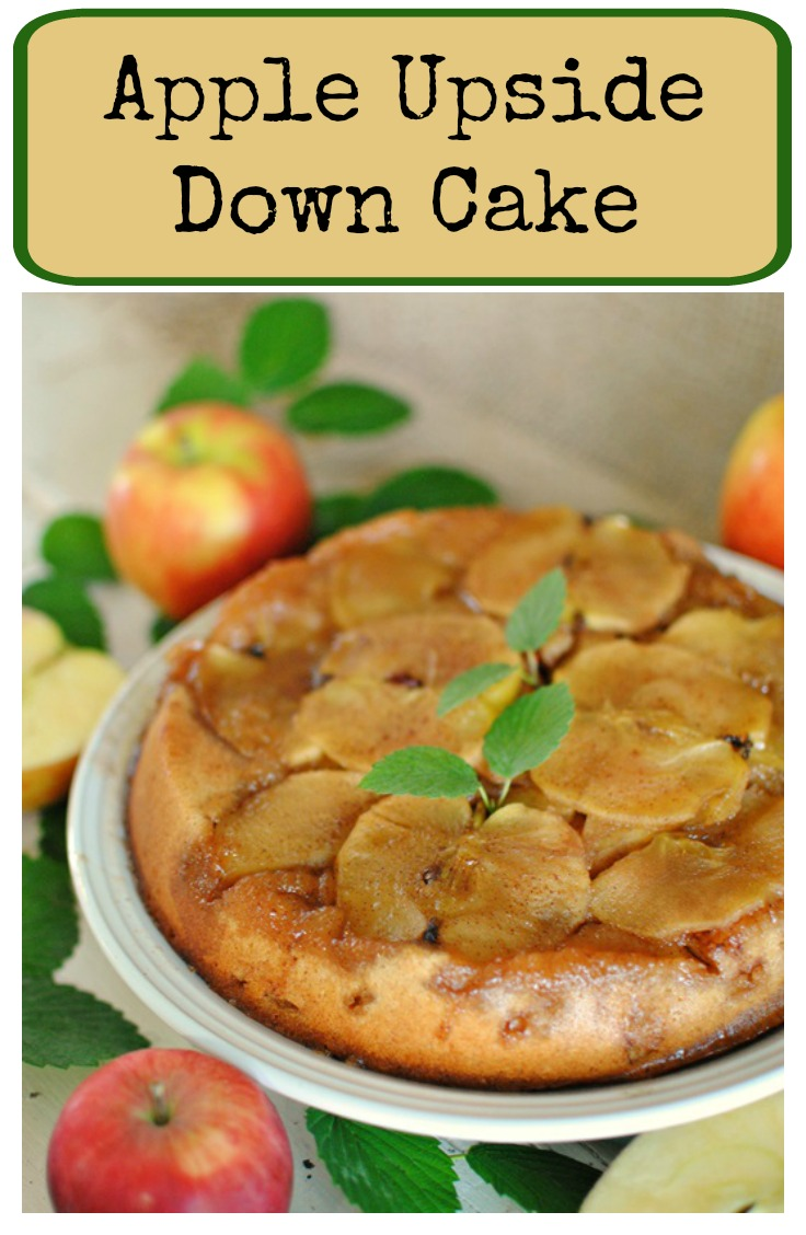 Apple Upside Down Cake - Town & Country Living