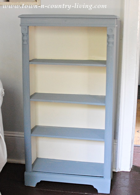 Bookcase With A Blend Of Annie Sloan Chalk Paints I Used One Part Graphite And